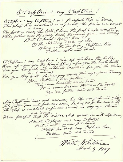 An 1887 handwritten draft